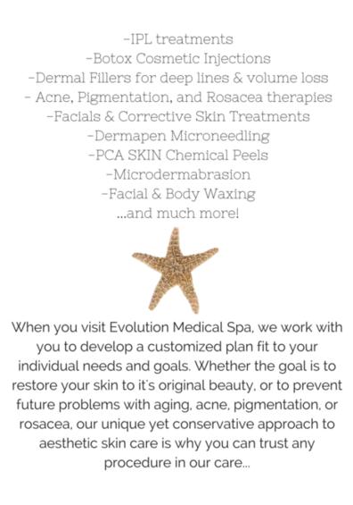 Evolution Medical Spa Homepage